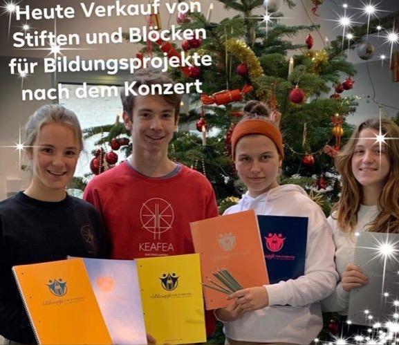 Johann-Sebastian-Bach Gymnasium zeigt großes Engagement