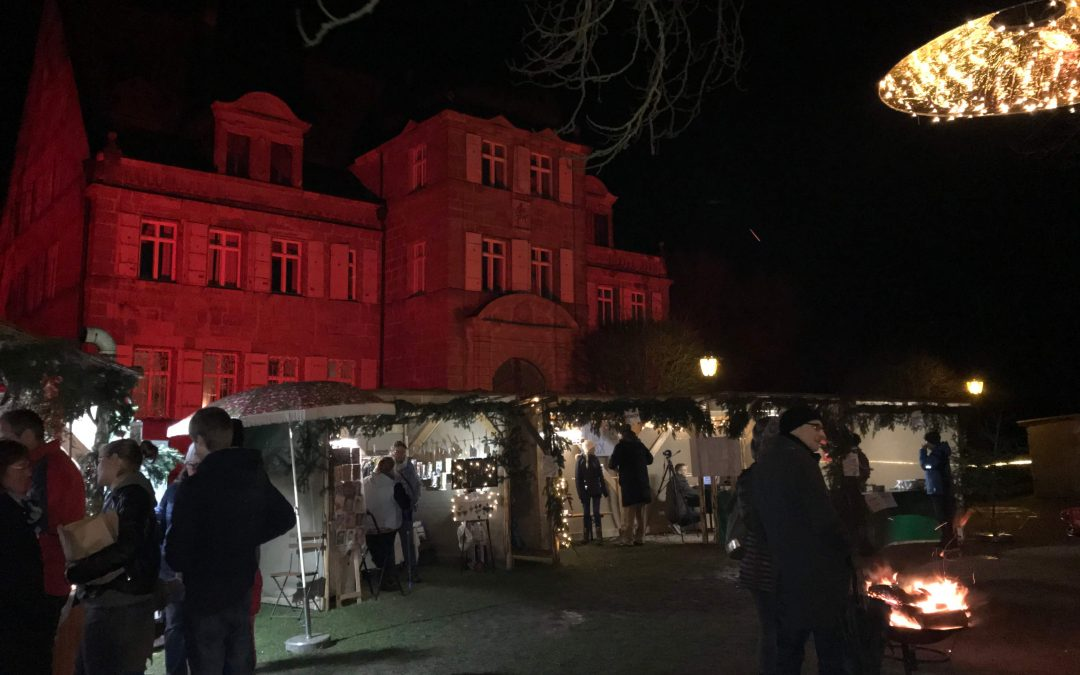 Weihnachtsmarkt am Schloss Dürrenmungenau bei Nürnberg