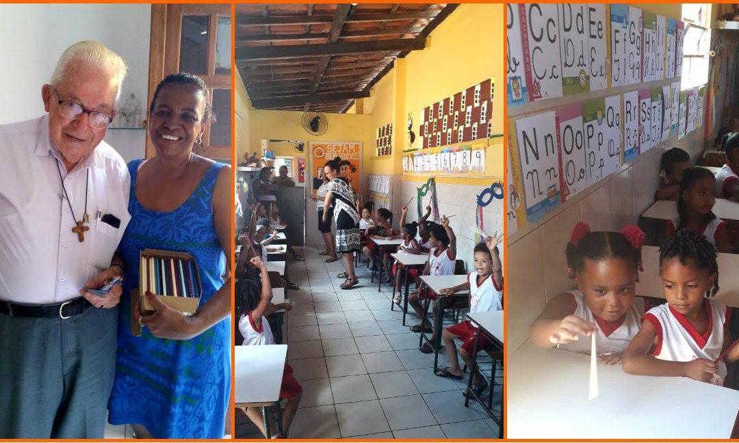 A Bleistift FOR EVERYONE unterstützt Bildungsprojekt in Brasilien