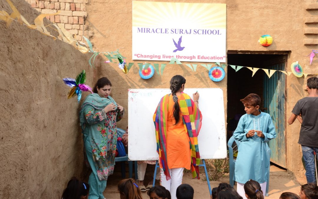 Miracle Suraj School eröffnet