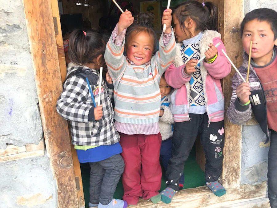 Bleistifte für die Shree Annapurna Secondary School