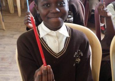 Stolze Bleistiftbesitzerinnen