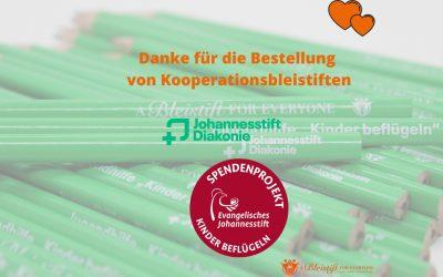 """Kooperation mit """"Kinder beflügeln"""" der Johannesstift Diakonie"""