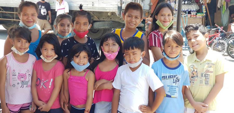 Zugang zur Bildung für 20 Schüler auf den Philippinen