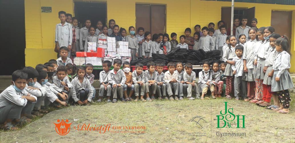 Das Bach Gymnasium hilft in Nepal