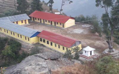 Eine Bibliothek in Nepal zum Geburtstag