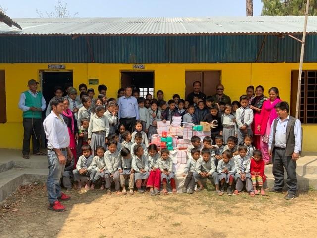Nepal: Fortschritte an der Mountain School Simthali