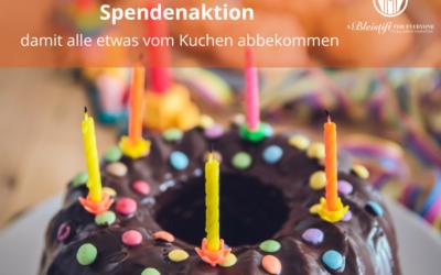 Zum Geburtstag Anderen etwas Gutes tun